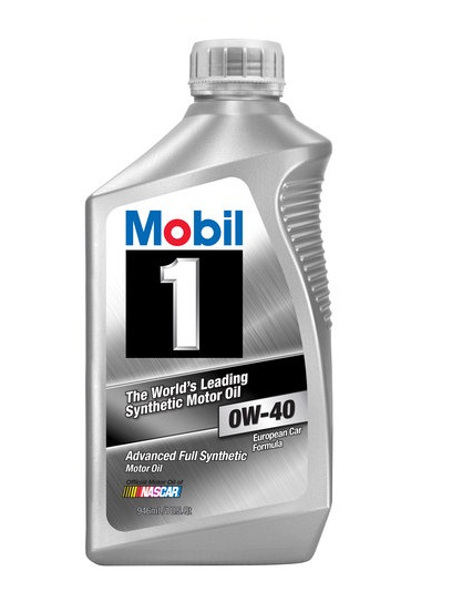 Mobil 1 0W-40 Advanced Full Synthetic